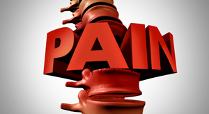 spine pain - Copyright – Stock Photo / Register Mark