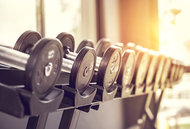 weights - Copyright – Stock Photo / Register Mark