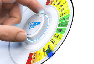 calories counter - Copyright – Stock Photo / Register Mark