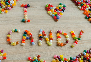 jelly bean - Copyright – Stock Photo / Register Mark