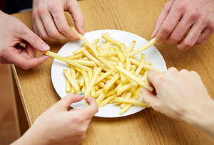 french fries - Copyright – Stock Photo / Register Mark