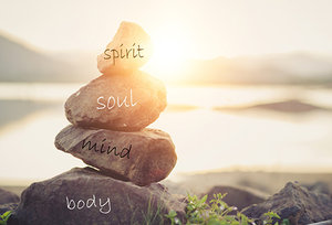 body and mind - Copyright – Stock Photo / Register Mark
