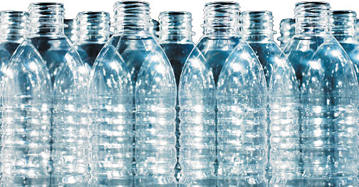 BPA plastic bottles - Copyright – Stock Photo / Register Mark