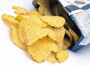 Potato Chips - Copyright – Stock Photo / Register Mark