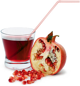 pomegranate juice - Copyright – Stock Photo / Register Mark
