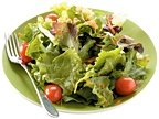 A healthy salad on a plate. - Copyright – Stock Photo / Register Mark