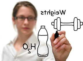 exercise formula - Copyright – Stock Photo / Register Mark