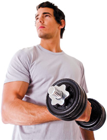 man lifting weight - Copyright – Stock Photo / Register Mark