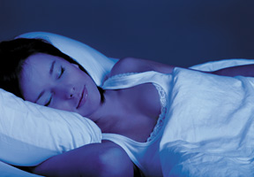 woman sleeping - Copyright – Stock Photo / Register Mark