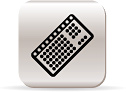 Keyboard icon - Copyright – Stock Photo / Register Mark