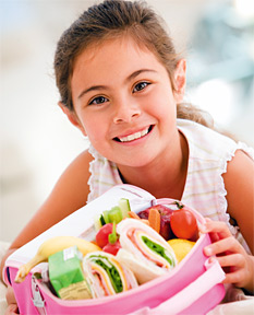 Healthy Back-to-School Lunches - Copyright – Stock Photo / Register Mark