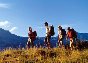 Hiking Group - Copyright – Stock Photo / Register Mark