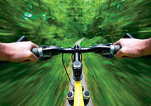 Biking - Copyright – Stock Photo / Register Mark