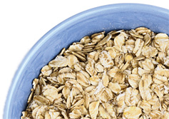 A bowl of oats. - Copyright – Stock Photo / Register Mark