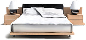 Rest Easy Bed - Copyright – Stock Photo / Register Mark