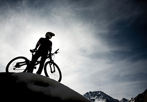 Enjoy your ride on mountain top - Copyright – Stock Photo / Register Mark