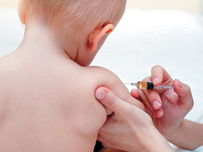 baby gets vaccine - Copyright – Stock Photo / Register Mark