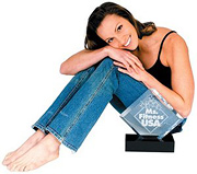 Sarah Harding-Traverso with her Ms. Fitness USA award. - Copyright – Stock Photo / Register Mark