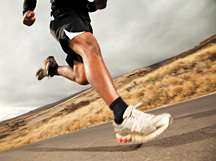 man running - Copyright – Stock Photo / Register Mark