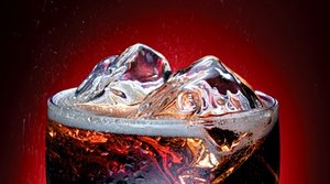 Glass of diet soda. - Copyright – Stock Photo / Register Mark
