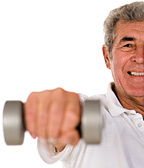 senior liftweight - Copyright – Stock Photo / Register Mark