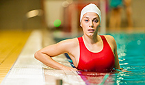 swimming - Copyright – Stock Photo / Register Mark