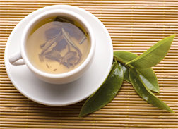 Cup of hot herbal tea. - Copyright – Stock Photo / Register Mark