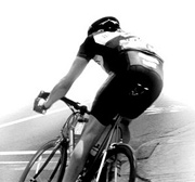 Professional bicyclist. - Copyright – Stock Photo / Register Mark
