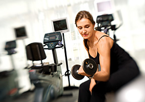 woman workout at gym - Copyright – Stock Photo / Register Mark